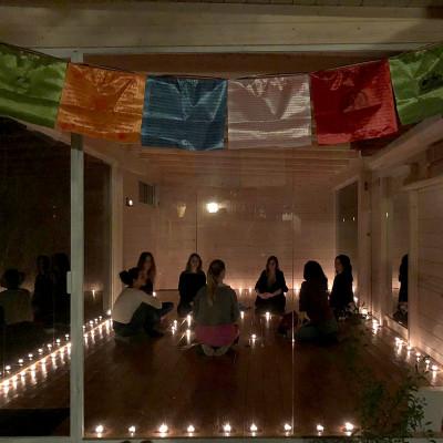 Serata presentazione corso yoga
